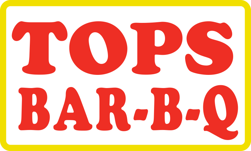 TOPS BBQ : big logo